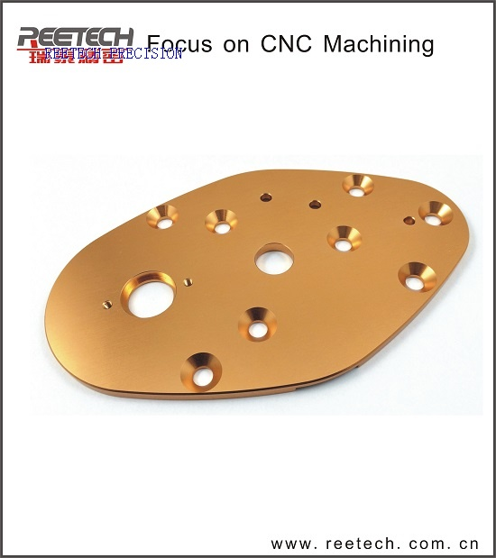 CNC machining part made of AL7075